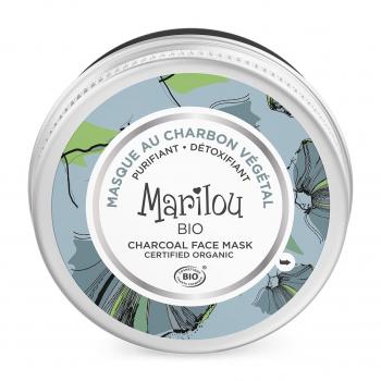Masque Visage au Charbon Végétal 75ml bio - Marilou Bio