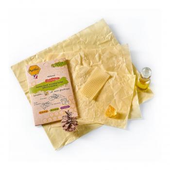 Emballage alimentaire réutilisable lot de 3 S-M-L - Apifilm