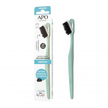 Brosse à dents rechargeable médium - APO