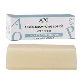 Après-shampoing solide 50g bio - APO