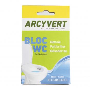 Bloc WC 1 panier + 1 bloc - Arcy Vert