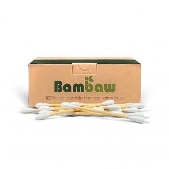 Cotons-tiges en bambou x200 - Bambaw