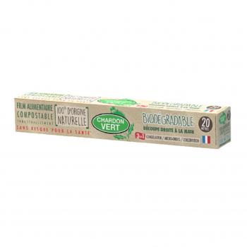 Film alimentaire étirable biodégradable - Chardon Vert