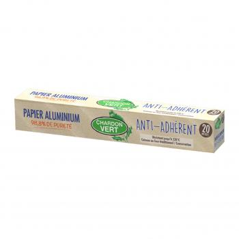 Papier aluminium - Chardon Vert