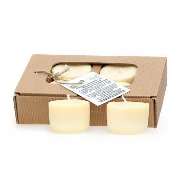 Bougies parfumées assainissantes x4 - Quesack