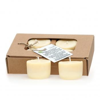 Bougies parfumées calmantes x4 - Quesack