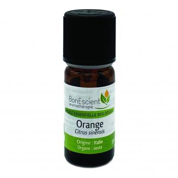 Huile essentielle de zeste d'orange 10ml bio - Bonescient