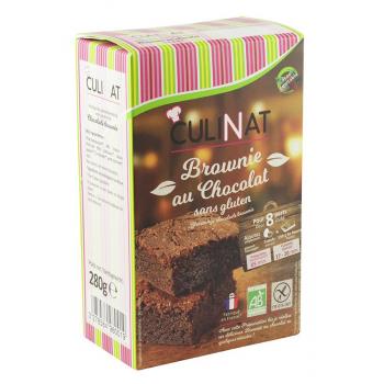 Préparation pour Brownie bio Culinat