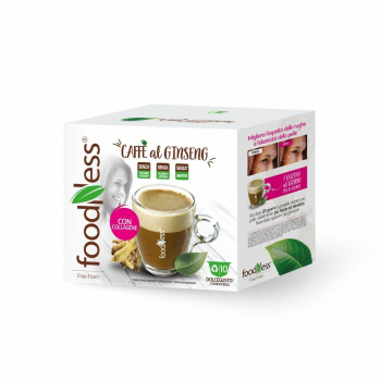 FOODNESS - compatible Dolce Gusto - cafe AU gingembre + COLLAGENE, 10caps