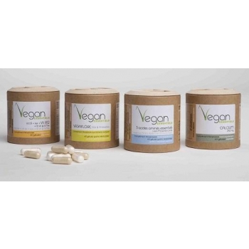 Calcium / Multi vitamines / 3 acides aminés Vegan - 180 gélules - Argalys