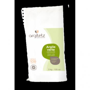 ARGILETZ - Argile verte Granulée en sac de 3 kg