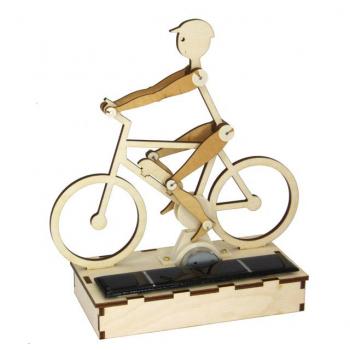 Kit cycliste solaire en bois
