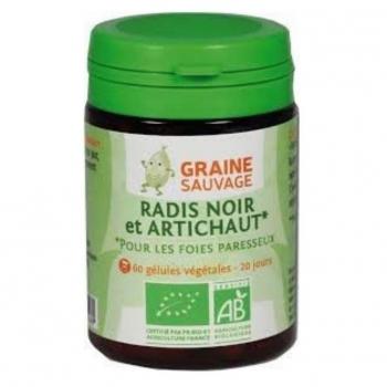 Radis noir et artichaut  BIO - Graine Sauvage - 60 Gélules