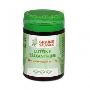 Lutéine-Zéaxanthine - Vision Plus - 60 gélules - Graine Sauvage
