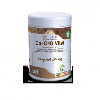 Co-Q10 Vital sans Gluten - Renforce l'énergie physique - 60 comprimés