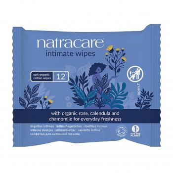Lingettes intimes x12 bio - Natracare