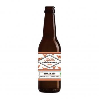 Bière ambrée Amber Ale Adèle 33cl bio - Biodyssée
