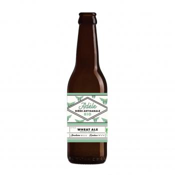 Bière blanche Wheat Ale Adèle 33cl bio - Biodyssée