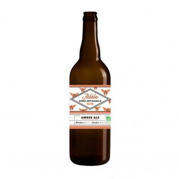 Bière ambrée Amber Ale Adèle 75cl bio - Biodyssée