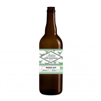 Bière blanche Wheat Ale Adèle 75cl bio - Biodyssée