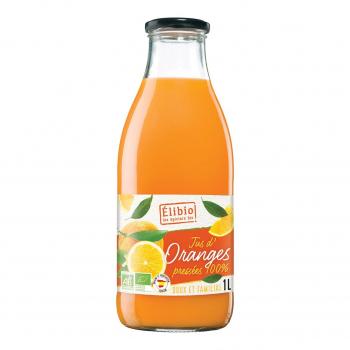Jus d'orange 1l bio - Elibio
