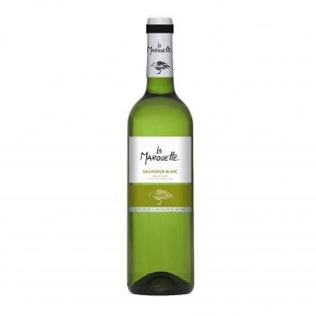 Vin blanc Sauvignon  - La Marouette - IGP Pays d'Oc 75cl bio - La Marouette