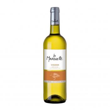 Vin blanc Viognier - La Marouette - IGP Pays d'Oc 75cl bio - La Marouette