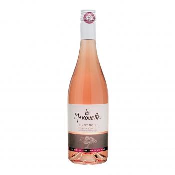 Vin rosé 100% Pinot noir - La Marouette - IGP Pays d'Oc 75cl bio - La Marouette