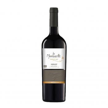 Vin rouge Merlot Prestige - La Marouette - IGP Pays d'Oc 75cl bio - La Marouette