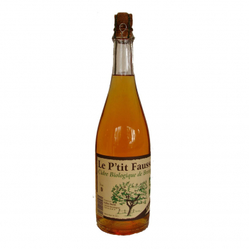 Cidre brut 75cl bio - Le Ptit Fausset