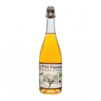 Cidre doux 75cl bio - Le Ptit Fausset