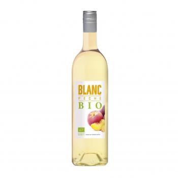 Vin blanc aromatisé à la pêche 75cl bio - Terroirs Vivants