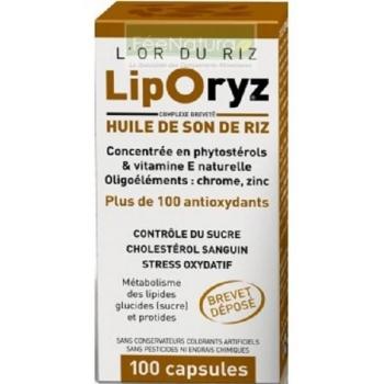 Liporyz - cholestérol sanguin - 100 gélules - LT Labo