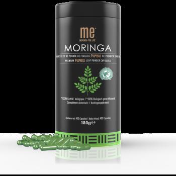 Moringa capsules 180g x400 - ME® moringa