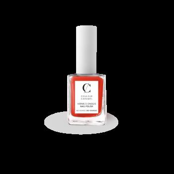 Vernis à Ongles Bio 11ml N°88 Orange Flash Couleur Caramel