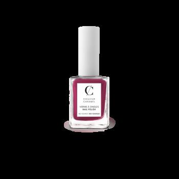 Vernis à Ongles Bio 11ml N°91 Rose Magenta Couleur Caramel