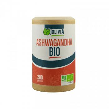 Ashwagandha Bio - 200 gélules végétales de 300 mg