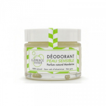Déodorant naturel Mandarine peau sensible - Clémence & Vivien