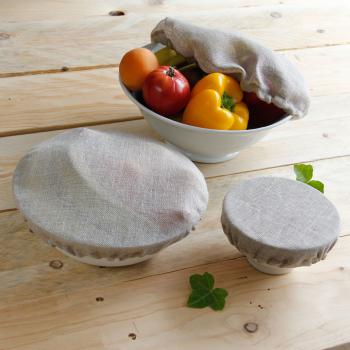 Trio - couvre plat en lin