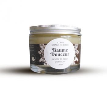 Baume Douceur – beurre de coco & calendula bio