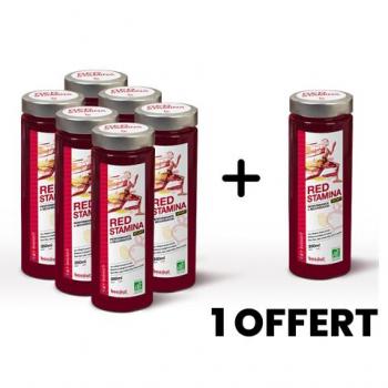 Pack Découverte - Red Stamina - Un jus 100% naturel, pressé à froid pour gagner en Performance et en Récupération de manière saine et durable !