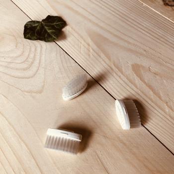 Recharge 3 têtes brosse à dents en bois