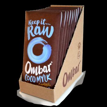 Lot de 9+1 Chocolats Crus à la Crème de Coco 70g Bio - Ombar