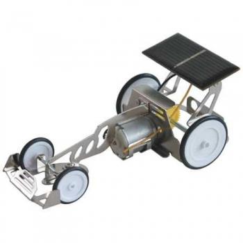 Dragster solaire en métal