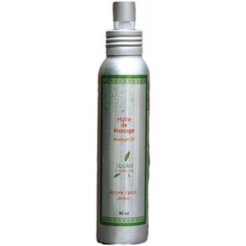 Huile de massage parfum Ambre épicé