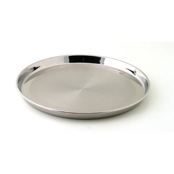 Moule à tarte en inox 18/10 - 30 cm Baumstal