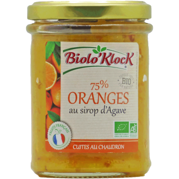 Préparation de fruit à l'orange - 210g