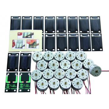 Lot de 20 cellules solaires SM80L + 20 moteurs RF-300