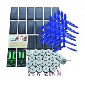 Lot de 20 cellules solaires SM330 + 20 moteurs RF-300 + 20 hélices