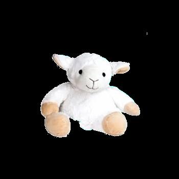 Peluche Bouillotte Mouton blanc